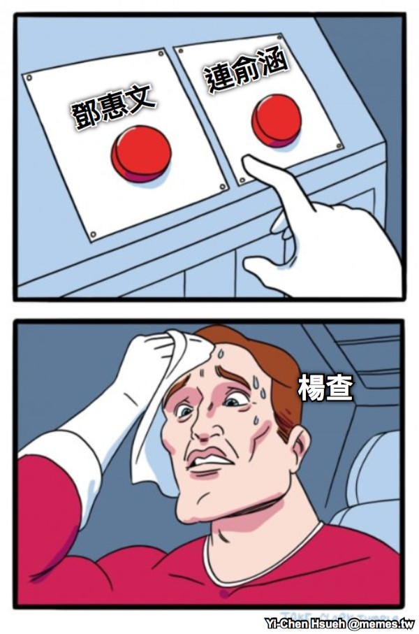 鄧惠文 連俞涵 楊查