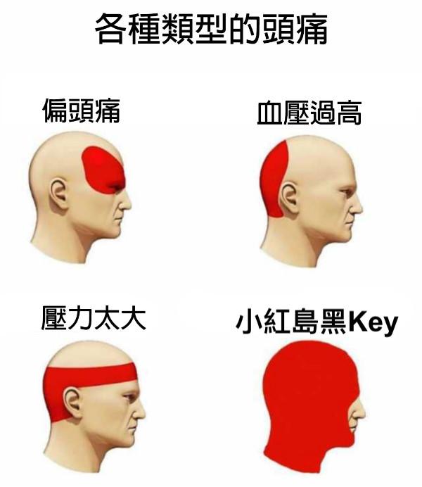 小紅島黑Key