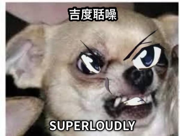 SUPERLOUDLY 吉度聒噪