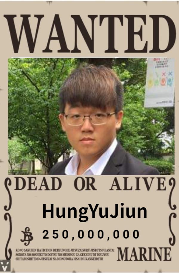 HungYuJiun 2 5 0 , 0 0 0 , 0 0 0