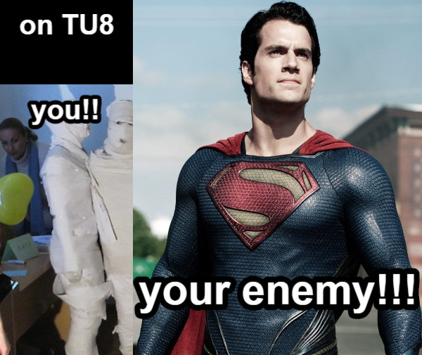 you!! you!! your enemy!!! on TU8