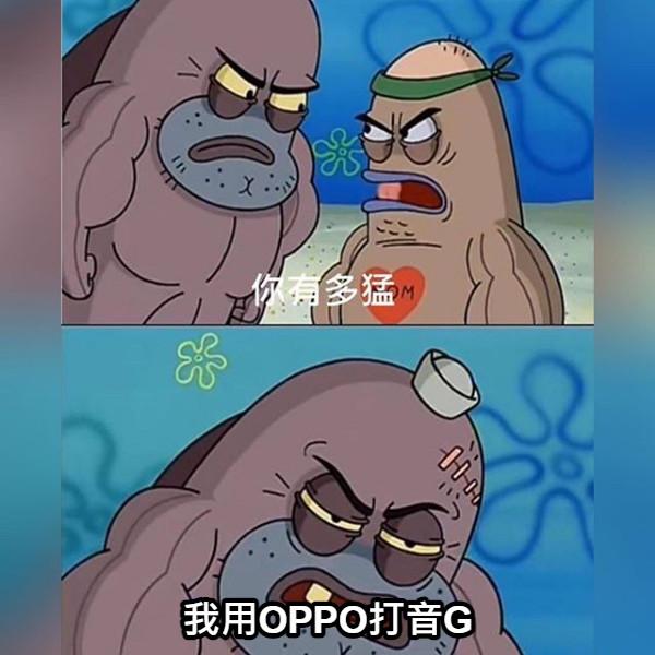 我用OPPO打音G